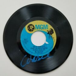Marie Osmond Signed One Of These Days 7 Vinyl Record 45 Rpm Donny Osmonds Rad
