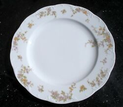 Desiree By Rosenthal 1 Dinner Plate Classic Rose Collection Monbijou 10.25