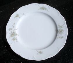 Catherine By Rosenthal 1 Dinner Plate Classic Rose Collection Monbijou 10 3/8