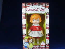 Vintage Campbell Kid Collectible Dolls-sold As A Pair Boy And Girl 7.5