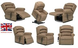Riser Recliner - Direct From Factory - British Made - Various Colour Fabrics
