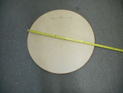 Table Top Only Round 28 Camper Formica Type With Oak Rubber Direct 2u Sku 2579