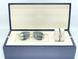 Sunglasses & Bracelet Fred FG40001U Solid Gold 18K Lim Edition 66 Pieces Cartier