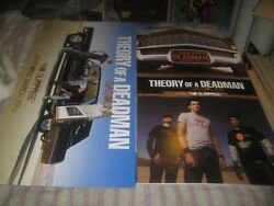 Theory Of A Deadman-gasoline-1 Poster Flat-2 Sided-12x24 Inches-nmint-rare