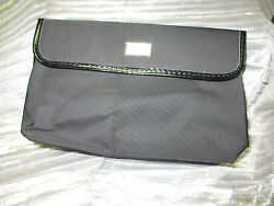 NEW DIOR BEAUTY COSMETIC BLACK FOLDABLE POUCH $39.99