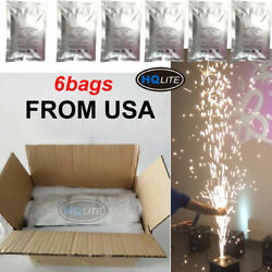 Large 6bags Composite Ti Powder Cold Spark Machine Stage Effect Fireworks