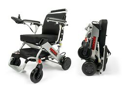 World's Lightest Only 39lbs Long Range Dual Battery And Motor Power Wheelchair