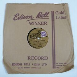 78rpm Commodore Grand Orch Maid Of The Mountains Edison Gold Label Inc Sleeve