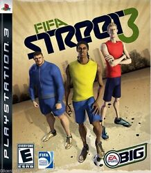 Fifa Street 3 Sony Playstation 3 Ps3 Complete With Book