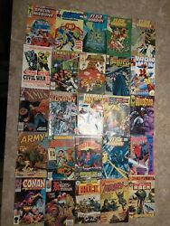 25 Comic Books Marvels And Dc Good Condition