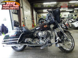 2001 FLHTCI - Electra Glide® Classic Injection -- 2001 Harley-Davidson® FLHTCI - Electra Glide® Classic Injection    Black