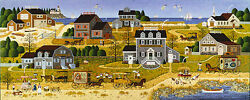 Charles Wysocki Salty Witch Bay Museumedition™ Giclee Canvas 2