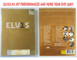 Elvis Presley 1 Hit Performances And More Dvd 2007 Edition 30 Collection Songs