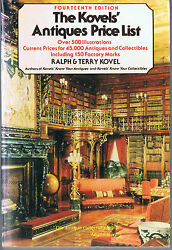 The Kovelsand039 Antiques Price List- Free Shipping