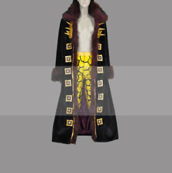 Custom Made One Piece Eustass Kid Cosplay Costume Outfit for Sale