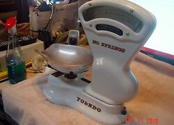 Antique Toledo Candy Scale Beautiful Condition Nice Piece Holy Toledo
