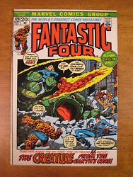 Fantastic Four 126 1972 Super-bright Colorful And Glossy W-o-w Pgs Vf-