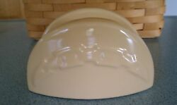 Longaberger Pottery Taco Holder Butternut Yellow New In Box Lots Of Great Uses