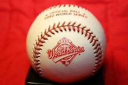 1 1992 Official Rawlings World Series Game Baseball New Blue Jays Braves