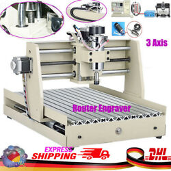 400W 3 Axis CNC 3040 Router Engraver Engraving Drilling Milling Machine Carving