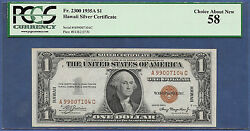 1935a 1 Hawaii ♚♚ A---c Block ♚♚ Pcgs Ch About New 58