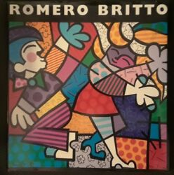 Romero Britto By Britto Aaron Young And Joel Taffet 1994 Hardcover Inscribed