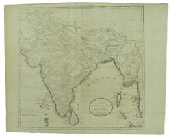 Mathew Carey Accurate Map Of Hindostan Or India From The Best Authorities. 1796