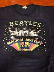 Awesome Vintage Cronies 1997 2-sided Beatles Magical Mystery Tour T-shirt Xl
