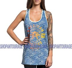 American Fighter Jacksonville Fw1743 Women`s Sport Pink Tank Top By Affliction