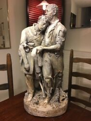 Rogers Group Wounded Scoutsculpture By John Rogers 1864 Civil Wargen. Grant