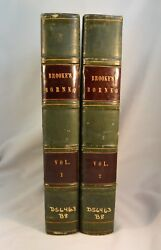 Narrative Of Events In Borneo And Celebes 1848 2 Vol 1st Ed. Malaysia Sarawak