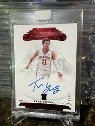 Trae Young 2018 Flawless Red Rc Rookie Auto /20 Hard Signed Panini Sealed