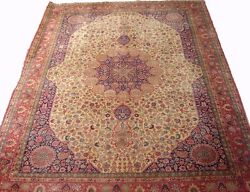 A Splendid Antique Rug W/ Medallion In The Shape Of A Dome