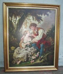 An Antique Painting Boucher Style