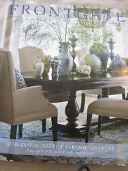 Frontgate Catalog Look Book January 2016 Interior Furnishings Event New