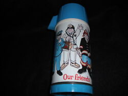 1973 Our Friends Thermos For Metal Lunch Box Excellent Vintage Rare Universal