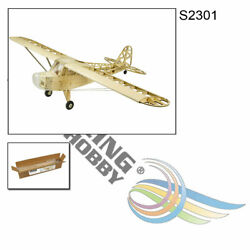 2019 Upgrade Balsa Wood Airplane 1.2m J3 Cub Electric Model Kit For Adults