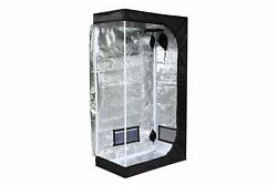 iPower GLTENTXS2 Mylar Hydroponic Grow Tent for Indoor Seedling Plant Growing...