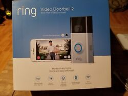 Ring Video Doorbell 2 Hd Security With 2-way Talk + Chime Pro