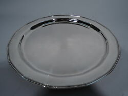 Tray - 18083 - Antique Art Deco Soft Modernism  American Sterling