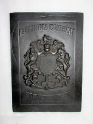 1917and039s Old Vintage Cast Iron British East India Co.queen Victoria Award Landon