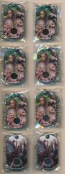 2015 The Walking Dead Season 4 Dog Tag Costume Lot Of 8 C17 And C15