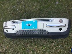02-06 MINI FRONT BUMPER ASSEMBLY GRILLE SIGNAL LIGHT GENUINE FACTORY OEM