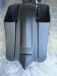 1997-2008 Harley Davidson Super Stretched Bags And Fender For Flh Touring