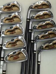 HONMA BERES IS-01 2-STAR 10PC ARMRQ S-FLEX IRONS SET GOLF CLUBS 10247 BERES
