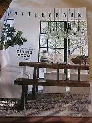 Pottery Barn March 2016 Catalog Dining Event Transform Your Dining Room New