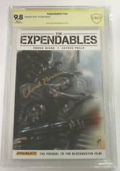 Cbcs Graded 9.8 Nm/mt The Expendables Nn 2010 Signed By Chuck Norris