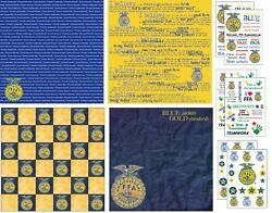 Future Farmers Of America Ffa Scrapbook Papers Choose From 33 Styles