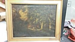 William Keith 1838 - 1911 Oil On Canvas Original With Wood Frame