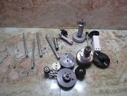 Agie Agiecut 150 Hss Edm Machine Lot Of Pulley Pulleys Tool Tooling Parts